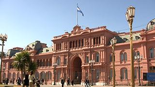 アルゼンチン/ブエノスアイレス/カサ・ロサダ(ピンクハウス)