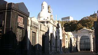 アルゼンチン/ブエノスアイレス/レコレータ墓地