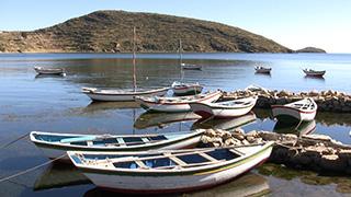 ボリビア/チチカカ湖/コパカバーナ