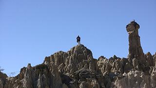 ボリビア/ラパス/月の谷