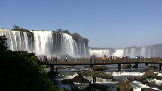 ブラジル/イグアスの滝
