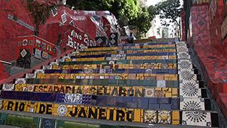 ブラジル/リオ・デ・ジャネイロ/エスカダリア・セラロン(セラロンの階段)