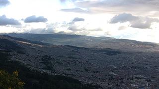 コロンビア/ボゴタ/モンセラーテの丘