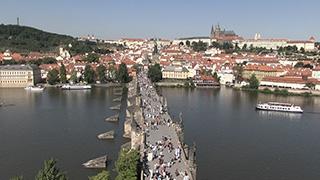 チェコ/プラハ/ヴルタヴァ川(モルダウ川)