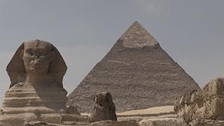 エジプト/ギザ/ピラミッド・スフィンクス