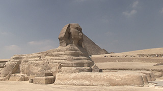 エジプト/ギザ/スフィンクス