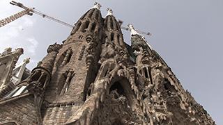 スペイン/バルセロナ/サグラダ・ファミリア