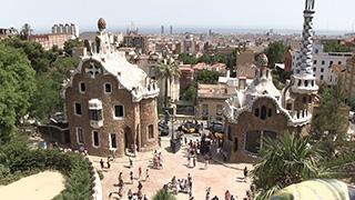 スペイン/バルセロナ/グエル公園