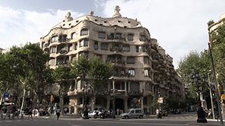 スペイン/バルセロナ/カサ・ミラ