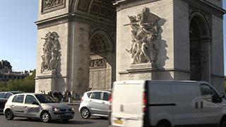 フランス/パリ/エトワール凱旋門