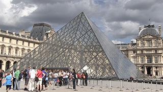 フランス/パリ/ルーヴル美術館