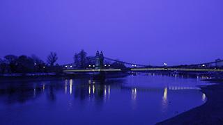 イギリス/ロンドン/ハマースミス/テムズ川
