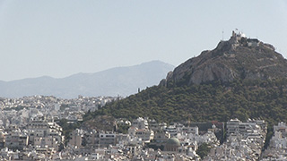 ギリシャ/アテネ/リカヴィトスの丘