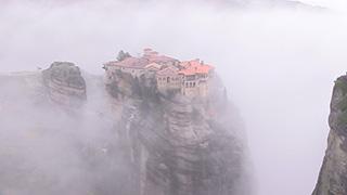 ギリシャ/メテオラ/ヴァルラーム修道院