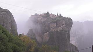 ギリシャ/メテオラ/アギア・トリアダ修道院