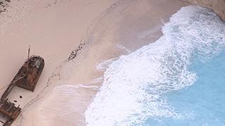 ギリシャ/ザキントス島/ナバイオビーチ(シップレックビーチ)