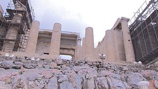 ギリシャ/アテネ/プロピレア(前門)