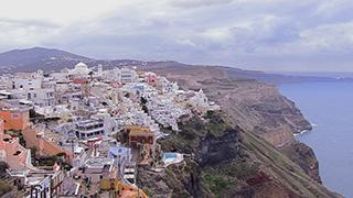 ギリシャ/サントリーニ島/フィラ