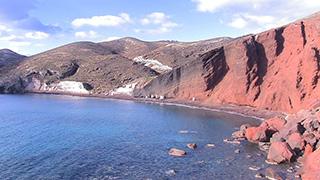 ギリシャ/サントリーニ島/レッドビーチ