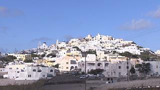 ギリシャ/サントリーニ島/ピルゴス