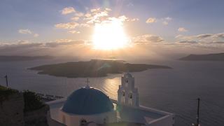 ギリシャ/サントリーニ島/フィロステファニ