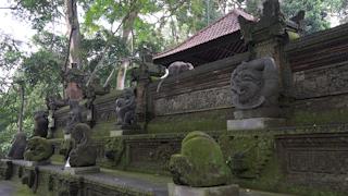 インドネシア/バリ島/モンキー・フォレスト/ダラム・アグン・パダントゥガル寺院