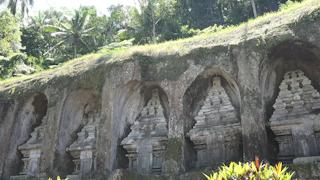 インドネシア/バリ島/グヌン・カウイ遺跡