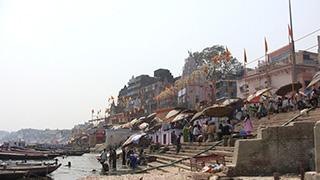 インド/バラナシ/ガンジス川