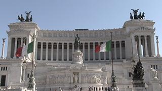 イタリア/ローマ/ヴィットーリオ・エマヌエーレ2世記念堂