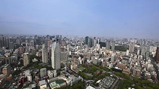 日本/東京/都心部俯瞰