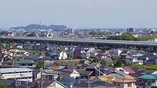 日本/神奈川/茅ヶ崎(殿山公園からの眺め)