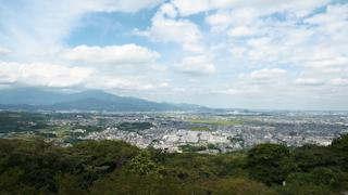 日本/神奈川/湘南の街並み街俯瞰(湘南平からの眺め)