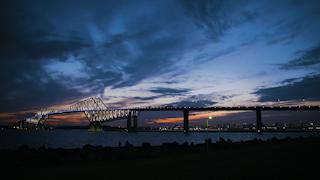 日本/東京/東京ゲートブリッジ/タイムラプス