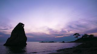 日本/神奈川/立石海岸/タイムラプス