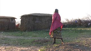 ケニア/マサイマラ国立保護区/マサイ族