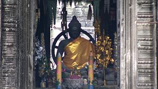 カンボジア/シェムリアップ/バンテアイ・クデイ