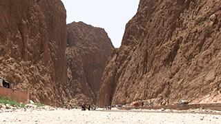 モロッコ/トドラ峡谷