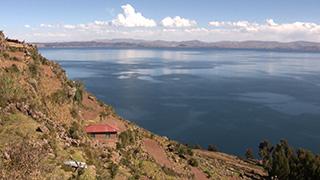 ペルー/チチカカ湖/タキーレ島