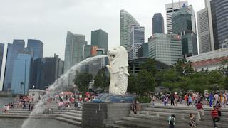シンガポール/マーライオンパーク
