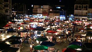 タイ/チェンマイ/ナイトバザール