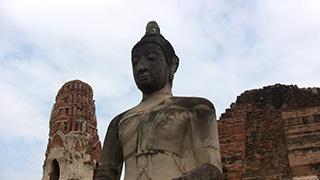 タイ/アユタヤ/ワット・ローカヤ・スター