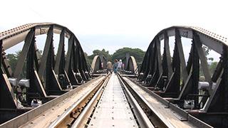 タイ/カンチャナブリ/クウェー川鉄橋