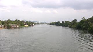 タイ/カンチャナブリ/クウェー川