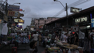 タイ/バンコク/カオサン通り