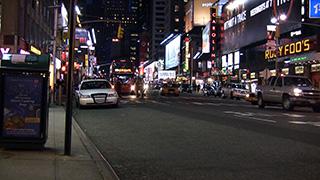 アメリカ/ニューヨーク/マンハッタン/タイムズ・スクエア