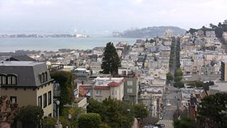 アメリカ/サンフランシスコ/ロシアン・ヒル