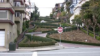 アメリカ/サンフランシスコ/ロンバードストリート