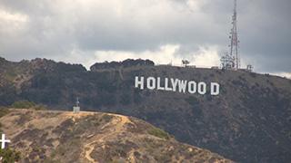 アメリカ/ロサンゼルス/ハリウッド/ハリウッドサイン