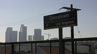 アメリカ/ロサンゼルス/チャイナタウン駅