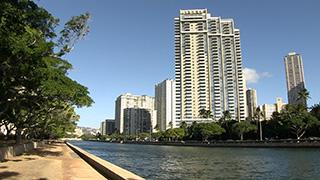 アメリカ/ハワイ/オアフ島/アラワイ運河